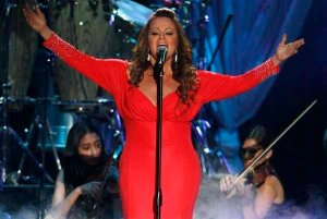 Mexican-American singer Jenni Rivera performs during the 2012 Billboard Latin Music Awards in Coral Gables