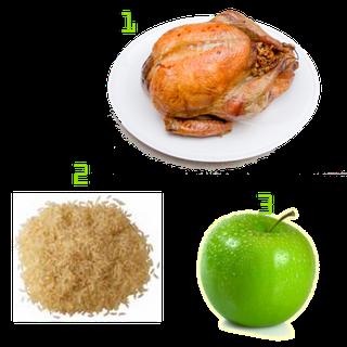 arroz-pollo-y-manzanas