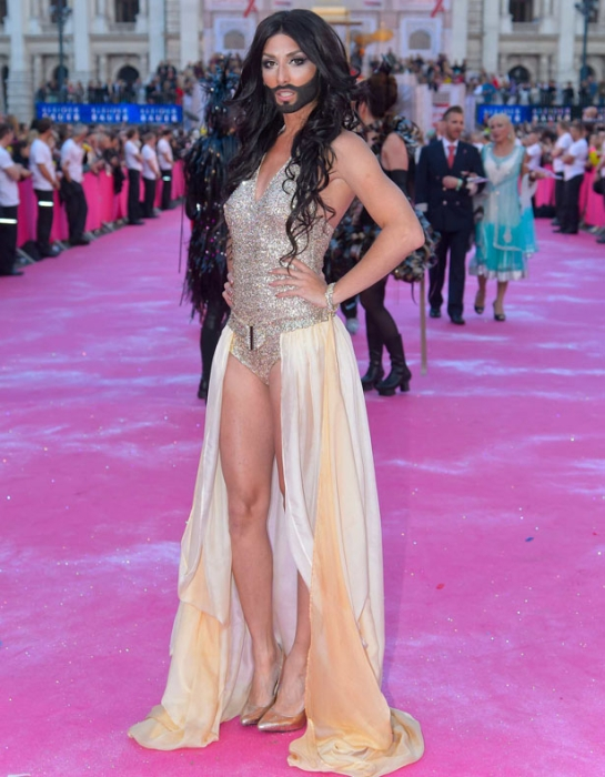 21. Lifeball AIDS HIV Charity Magenta (Red) Carpet