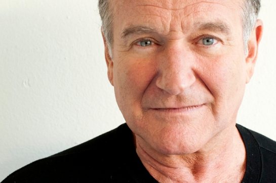 Actor Robin Williams poses for a portrait during the Happy Feet Press Junket in Beverly Hills, Calif. on Saturday, Nov. 5, 2011. (Dan Steinberg/Invision/AP Images)